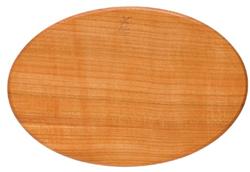 Snijplank ovaal speciaal voor de scherpe messen van Herder