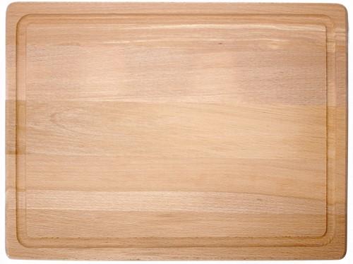 Solinger Snijplank beukenhout met geul 39.5 x 30 x 2,5 cm